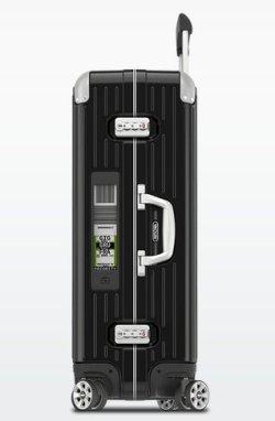 画像2: リンボ MULTWHEEL 4輪 ブラック 73L 電子タグ【E-TAG】生産終了 ◆1点限り◆◆SALE◆